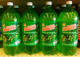 Store brand Mountain Dew