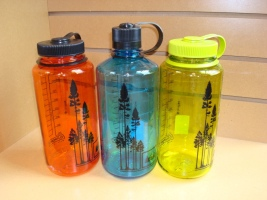re-usable water bottles